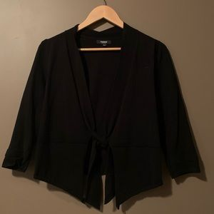 3 for $20! Premise studio black tie cardigan.